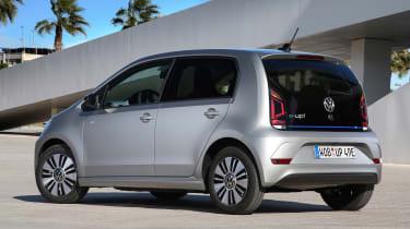 2019 Volkswagen e-up! hatchback - static rear 3/4