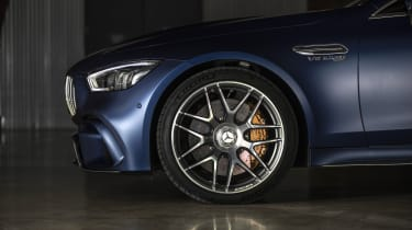 Mercedes-AMG GT 63 front wheel detail