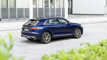 Audi SQ8 rear view