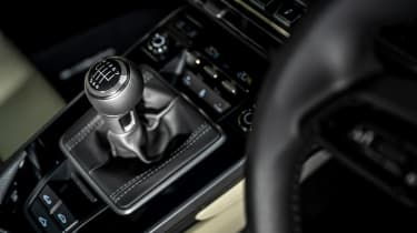 Porsche 911 coupe gearlever