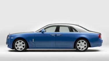 Rolls Royce Ghost 2013 side profile