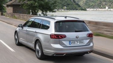 Volkswagen Passat Estate rear 3/4 tracking