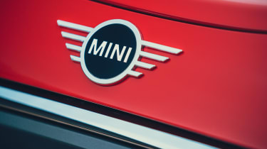 MINI Electric hatchback badge