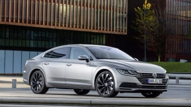 The Elegance model comes with 18-inch alloy wheels as standard but 19 and 20-inch versions are available.