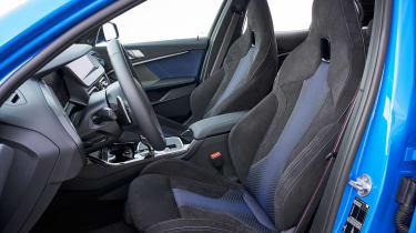 BMW M135i seats