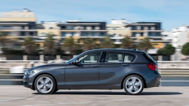 Practicality has improved, with more space for rear passengers and a 360-litre boot