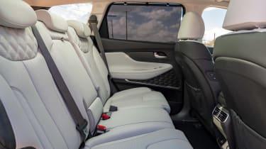 Hyundai Santa Fe SUV rear seats