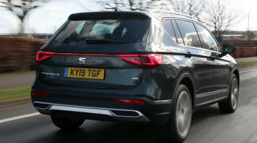 SEAT Tarraco SUV rear tracking