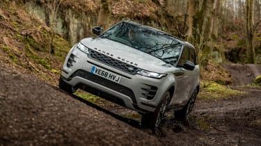 Range Rover Evoque SUV side angle