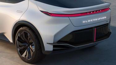 Lexus LF-Z concept - rear close up