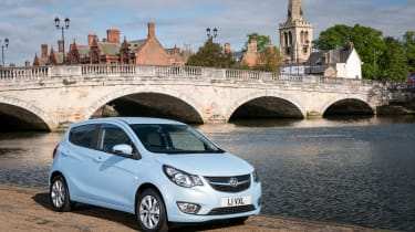 Five-door-only body style means the Vauxhall Viva is reasonably practical
