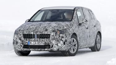 BMW 2 Series Active Tourer in development - front view