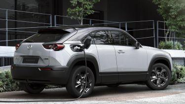 Mazda MX-30 charging