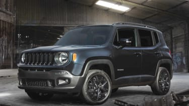 Jeep Renegade 'Dawn Of Justice' edition – Yes, we know Batman has a very serious machine set aside for pursuing villains and general speedy crime-fighting derring-do, but what does he trundle to the shops in? Well, as the 2015 Batman i