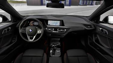 2019 BMW 1 Series cabin