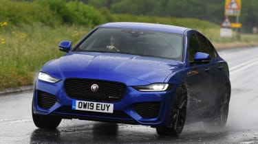 Jaguar XE saloon front action