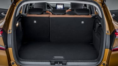 2020 Renault Captur - rear seats in place