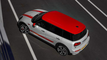 MINI John Cooper Works Clubman - rear angle roof