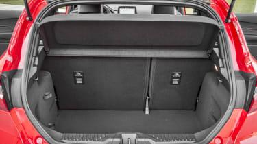 Ford Fiesta hatchback boot