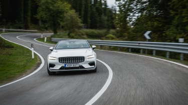 Polestar 1 coupe front cornering