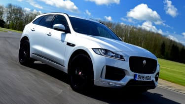 Svelte styling has won the Jaguar F-Pace praise from many sides