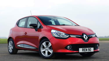 Renault Clio 2013 - front 3/4 view