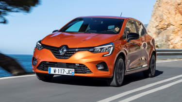 Renault Clio hatchback front driving