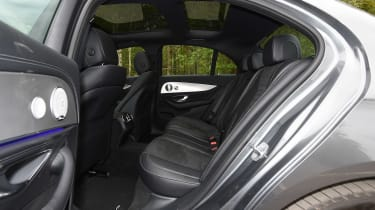 There's ample interior space for those in the front and the back, head and legroom are both generous