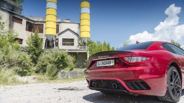 Maserati GranTurismo coupe tail