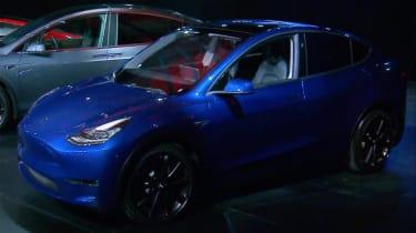 Tesla Model Y staric