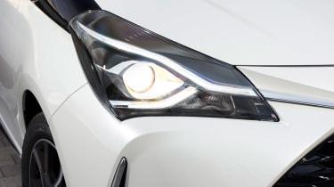 Toyota Yaris headlight
