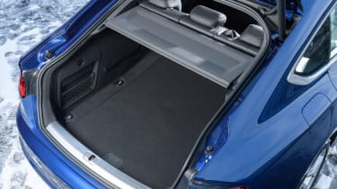 The A5 Sportback matches the 4 Series Gran Coupe with an identical 480-litres of boot space