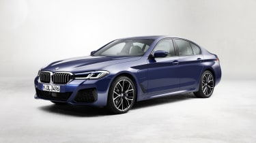 New 2020 BMW 5 Series saloon - front 3/4 static