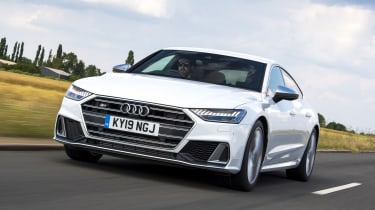 Audi S7 hatchback front tracking