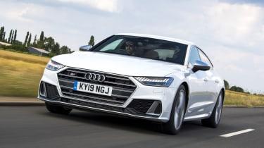 Audi S7 hatchback front tracking