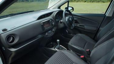 Toyota Yaris interior