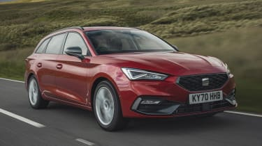SEAT Leon Estate review gallery