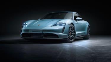 2020 Porsche Taycan 4S - Front 3/4 static position