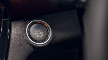 Hyundai Ioniq Hybrid review start button