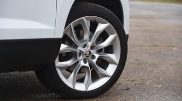 Skoda Karoq SUV alloy wheels