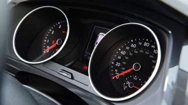 Volkswagen Tiguan SUV instruments