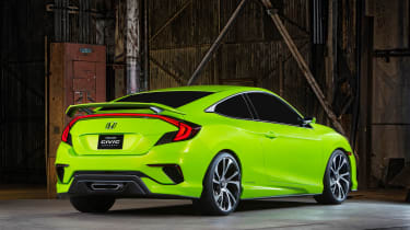 Honda released 'teaser' images hinting towards a future coupe