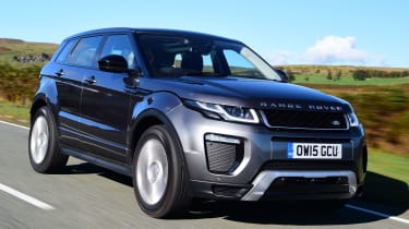 The Evoque's unique and desirable styling helped it become the fastest-selling Land Rover of all time