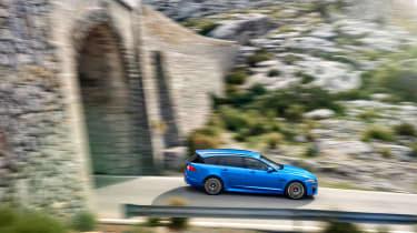Jaguar XFR-S Sportbrake profile
