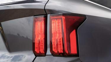 2020 Kia Sorento SUV - rear tail light close up