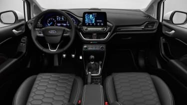 The new Ford Fiesta Vignale looks set to get the same quilted leather seats found in more expensive models
