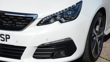 The grille became more upright, while LED daytime running lights run along the top of the headlights