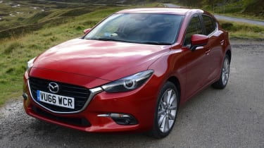 The 2.2-litre diesel offers far more power, but can still manage almost 70mpg