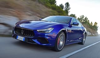 The Maserati Ghibli is a luxurious four-door saloon with coupe-like styling and powerful engines