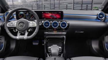 Mercedes-AMG A 35 Saloon interior